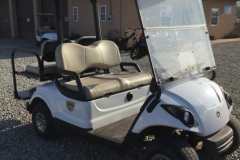 2008 Yamaha 48v electric golf cart with rear seat and lights